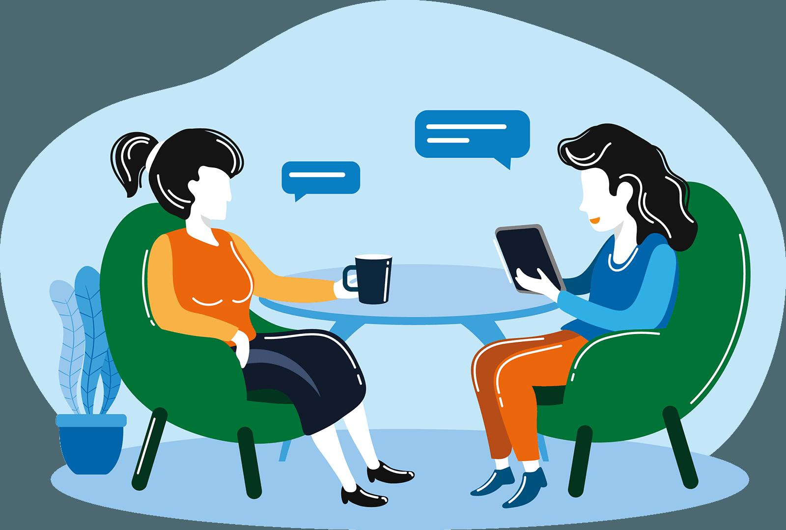 Behandeling - gesprekstherapie