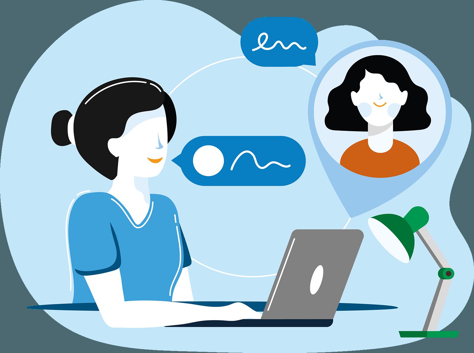 E-health - Beeldbellen - Online psycholoog